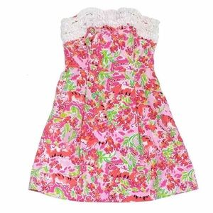 Lilly Pulitzer Pink Tiger Dress